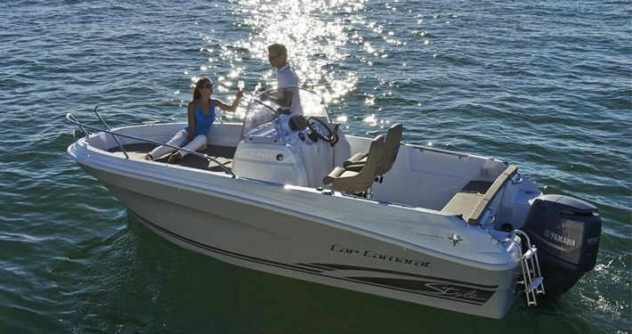Jeanneau Cap Camarat 5.5 Center Console concession