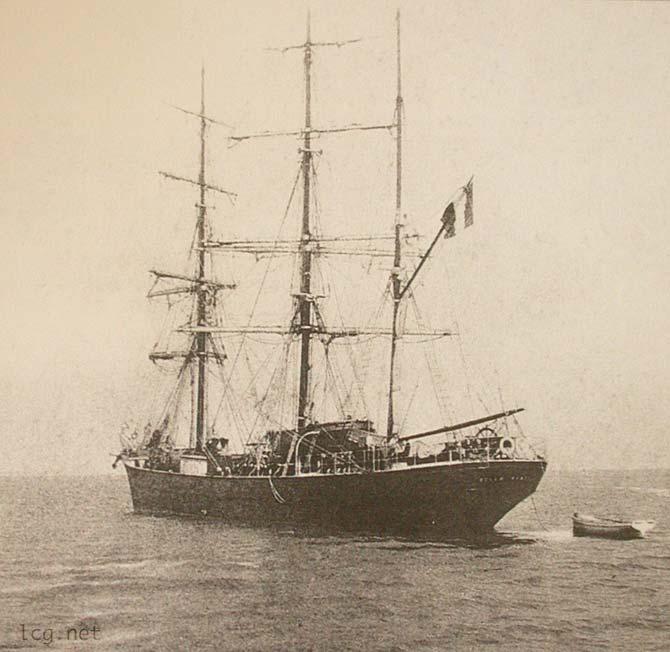 belem 1913 - Le Belem : un navire de légende de retour à Bordeaux
