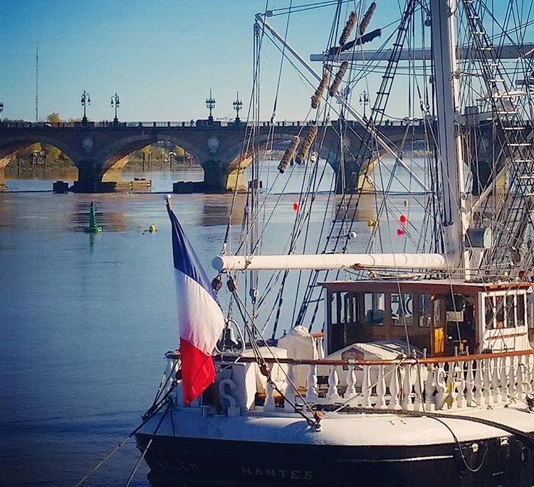 Belem Bordeaux 2017 pont de pierre