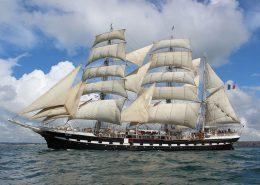 belem brest 2012 260x185 - Le Belem : un navire de légende de retour à Bordeaux