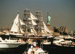 Belem New York statue liberté 1986