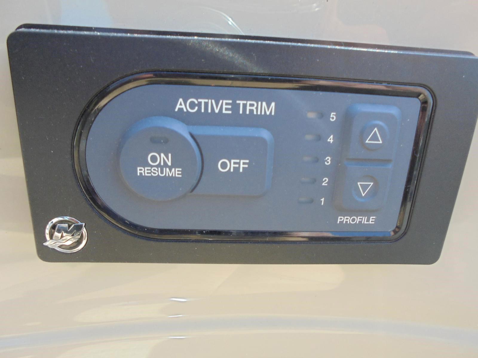 active trim 5 niveaux - L'Active Trim de Mercury : une nouvelle aide au pilotage