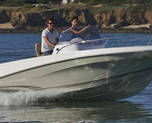bateau location biscarrosse cap camarat 5 5 cc 2 FP1 495x400 - Cap Camarat 5.5 CC