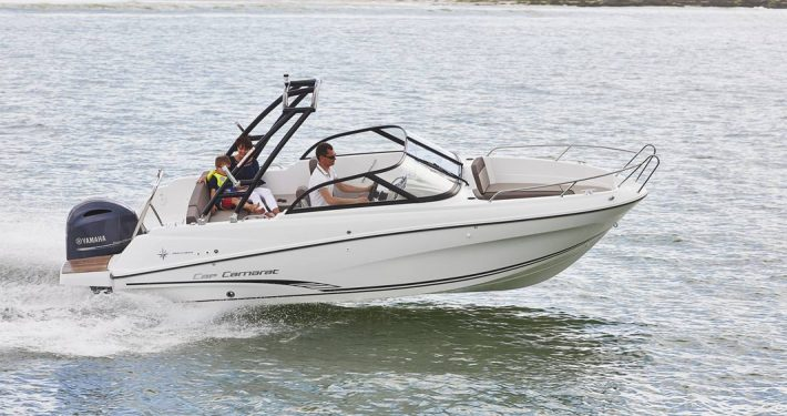 bateau location biscarrosse cap camarat 6 5 br 1 FP1 710x375 - Cap Camarat 6.5 BR Bisca 1
