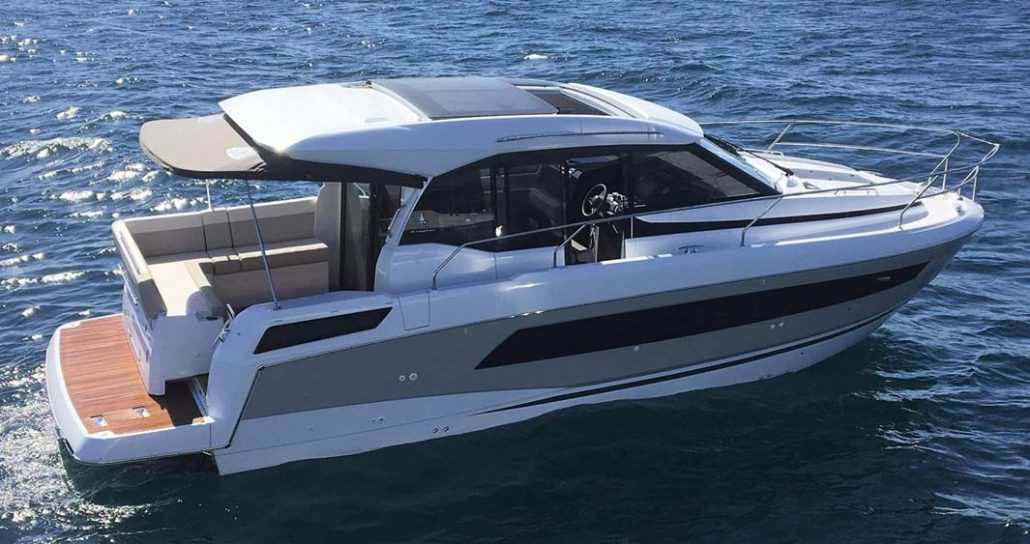 bateau jeanneau new concept NC 33 FP1 1030x544 - Nouveautés Jeanneau 2018 - Le Sun Odyssey 490 et le NC 33