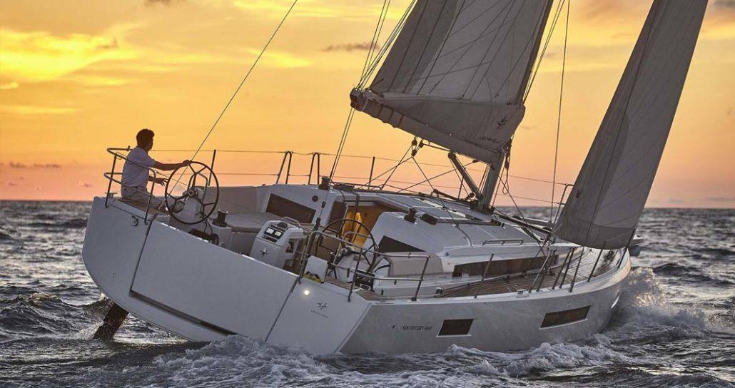 Sun Odyssey 440 harmonieux et design