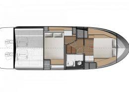 NC 33 2 cabines plans intérieur