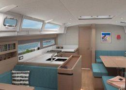 Sun Odyssey 490 intérieur