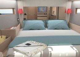 Sun Odyssey 490 cabine