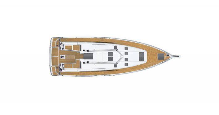 Sun Odyssey 490 plans