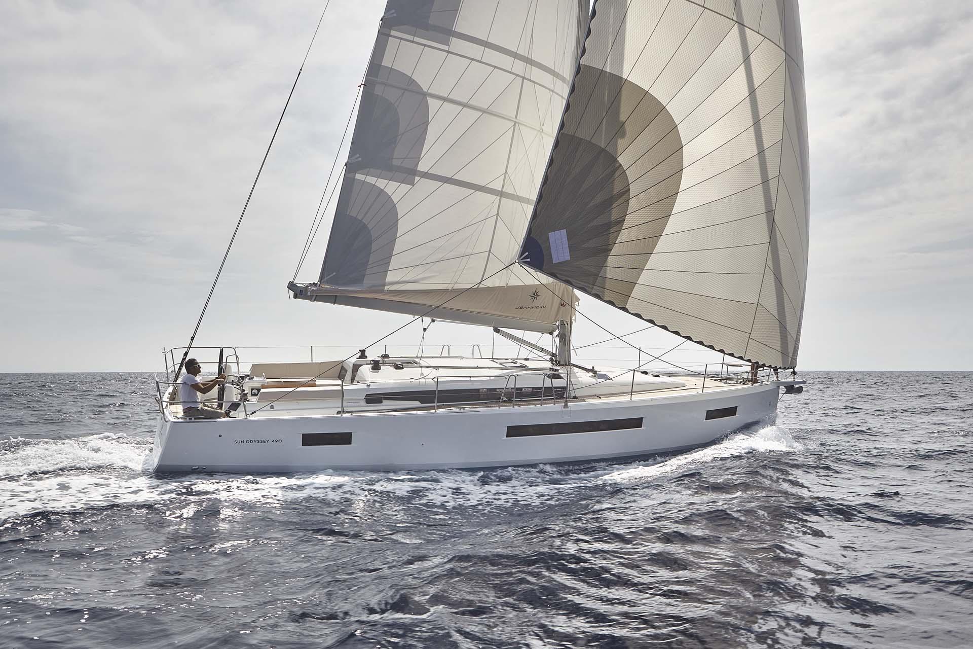 bateau voilier neuf sun odyssey 490 FP2 -
