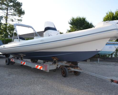 bateau occasion semi rigide nj 700 FP1 495x400 - NJ 700