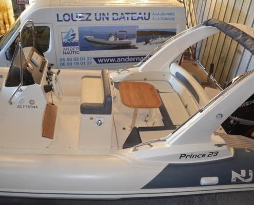 bateau occasion p23 arguin hangar FP2 495x400 - Prince 23
