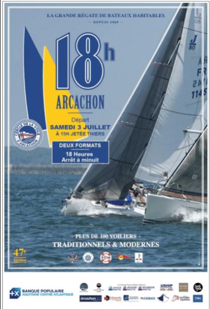 18h arcachon - Les Chantiers Navals du BA, sponsor des 18h d'Arcachon - 47ème édition