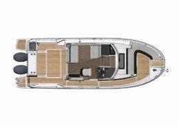 mini intérieur cabine 260x185 - Merry Fisher 895 Marlin