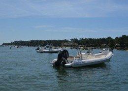 bateau location cap ferret black fin elegance 8 FP1 260x185 - Black Fin Elegance 8