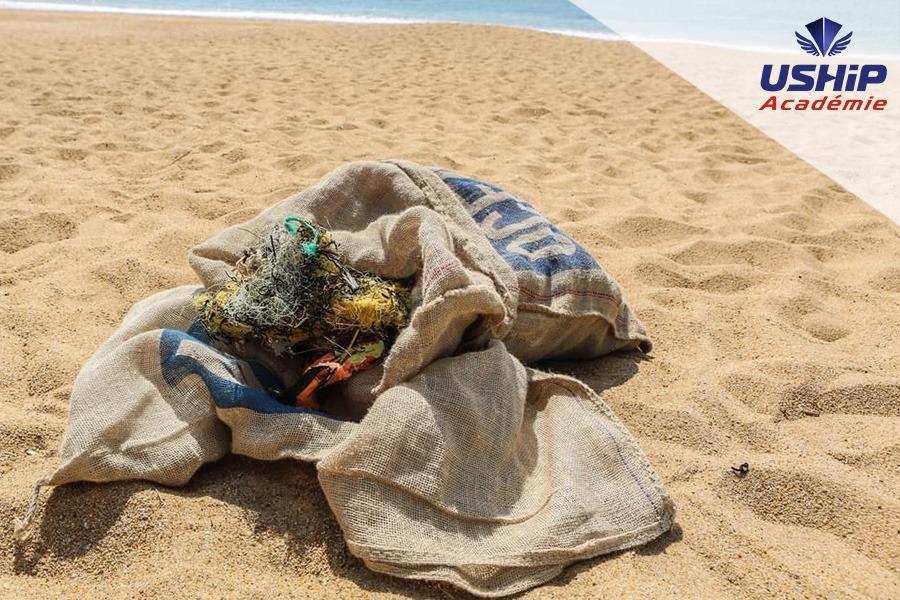 sac pro ramassage plage - USHIP Arcachon & Ocean Rescue Project – Le sac de ramassage indispensable pour nos océans !